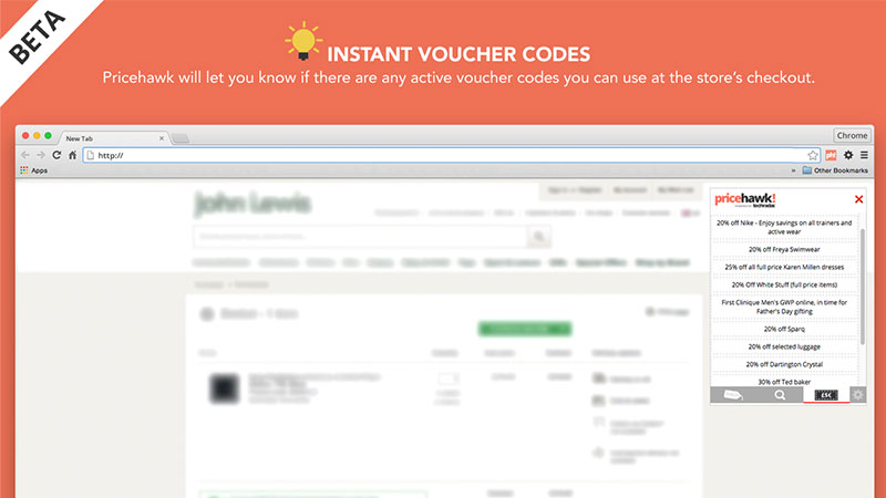 pricehawk vouchers
